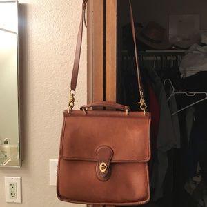 Coach vintage side purse.